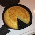 Skillet Corn Bread - This simple, slightly sweet corn bread is made in the versatile cast-iron skillet.