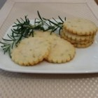 Rosemary Shortbread Cookies - A very Victorian recipe! Some people are put off by the notion of herb cookies, but you'll be pleasantly surprised. The flavor improves with age (best 2 days after),  keeping for about a week.