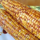 Soy-Glazed Corn on the Cob - Grilled corn on the cob basted with a soy-based glaze is a quick and easy way to prepare corn.