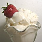 Vanilla Frozen Yogurt - This frozen yogurt is so much easier than homemade ice cream!
