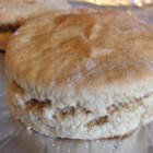 Vegan Whole Wheat Biscuits - Coconut oil and almond milk keep these whole wheat biscuits .