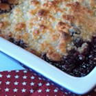 Warm Blueberry Cobbler - Warm blueberry cobbler is made simple with this quick and easy recipe using 6 ingredients; serve warm with whipped cream or vanilla ice cream.