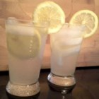 Limoncello Spritzer  - This limoncello spritzer, made with limoncello, lemonade concentrate, and club soda, is a refreshing beverage for hot afternoons.
