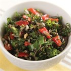 Kale Salad from Oster(R) - This colorful kale salad with carrots, bell peppers, and peanuts is tossed with apple cider vinaigrette for a delicious side-dish salad or light lunch.