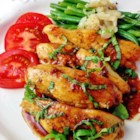 Lucky's Quickie Chickie - Fresh basil and honey give this quick and easy chicken recipe a hint of sweetness for a new weeknight meal.