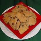 Kookie Brittle - Bar cookies broken into brittle shapes.