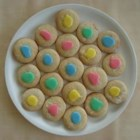 Cut-Out Butter Cookies - These are very yummy cut-out type cookies.  You may end up not needing all of the 2 1/2 cups of flour.