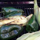 Roasted Corn and Poblanos - A simple dish of roasted corn kernels with poblano and jalapeno peppers makes a quick and slightly spicy side dish for your next Tex-Mex meal.