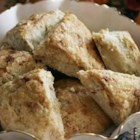 Apple Scones - Not too sweet, the apple really comes through in these delectable scones sprinkled with cinnamon sugar.
