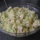 Fruited Coleslaw - A delicious recipe, add 1/2 cup of grated coconut and you'll have a delicious coconut coleslaw!