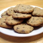 Mini Chip Sugar Cookies - These are good and a nice change from chocolate chip cookies.