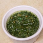 Fabulous Cilantro Pesto - This is a delicious version of the classic with a little more zip! You can substitute the vinegar with lime juice, lemon juice or Italian salad dressing.