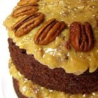 German Chocolate Cake III - A spectacular German Chocolate cake made from scratch, using cake flour.