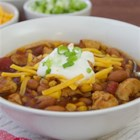 Chicken and Corn Chili from McCormick(R) - Ready in less than 30 minutes, this gluten-free one-skillet dish is the perfect family dinner for busy weeknights.
