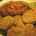 Photo of: Fried Green Tomatoes with Shrimp Remoulade - Recipe of the Day