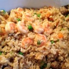 Shrimp Fried Rice I - This is an excellent tasting shrimp dish with Chinese flair. Serve as a side dish or main course, with soy sauce or teriyaki sauce.