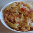 Stewed Cabbage - Classic dish of cabbage stewed with tomatoes, celery, onions and garlic.