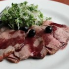 Roast Pork with Blueberry Port Sauce - Chef John shows us how versatile pork shoulder is with this recipe for roast pork with a blueberry-port wine pan sauce.