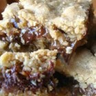 Oatmeal Carmelitas - Chewy gooey caramel, nuts and chocolate. We call them Goober Cookies. They taste great the next day if you get them to last that long.