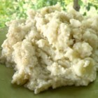 (I Can't Believe It's) Mashed Cauliflower - Mashed cauliflower can stand in for mashed potatoes. Use yogurt to add creaminess to this version with onion and garlic.