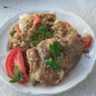 Pork Chop Casserole I - Use packaged convenience foods to create this easy one-dish meal. Try onion soup, instant rice and canned sliced mushrooms to make a tasty, fluffy bed for juicy pork chops. Toss in some veggies and bake.