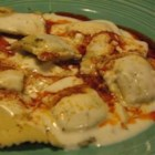Manti (Turkish 'Ravioli' with Yogurt Sauce)