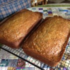 Zucchini Pineapple Bread I - Luscious pineapple is strewn throughout these ambrosial zucchini loaves, perfectly spiced with nutmeg and cinnamon.