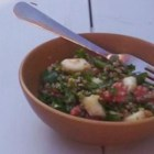 Lebanese-Style Tabouli - Ground cinnamon and mint set off this Middle Eastern parsley and bulgur salad.