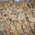 Mechelle's Chocolate Cookies - Nutty and super chocolaty cookies that use three kinds of chocolate chips. If you love chocolate as much as I do you will love these cookies. Hope they last more than a day!!