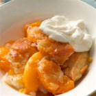 Classic Bisquick(TM) Peach Cobbler - Whether you use canned, fresh or frozen peaches will probably depend on the time of year. Whatever the season, this homey dessert will bring you praises. Try this favorite from the Betty Crocker Kitchens tonight.