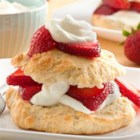 Classic Strawberry Shortcakes - Shortcakes are the sweet sister to biscuits, and they make an awesome dessert when topped and filled with strawberries and whipped cream.