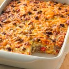 Impossibly Easy Breakfast Bake (Crowd Size) - Ringing the breakfast bell has never been easier! Enjoy all the traditional tastes of breakfast in one easy bake.