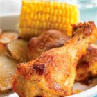 Oven-Baked Chicken - Why deep-fry? Bake juicy, tender chicken with a tasty seasoned coating. It's the start of a great meal.