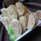 Anise Cookies III - An elegant, crisp cookie with walnuts and anise seed.