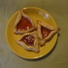 Easy Hamantaschen - A favorite treat for the Purim holiday!  It has always worked better for me if I cover the dough  and refrigerate overnight.