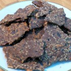 Gluten-Free Teff Crackers - Homemade gluten-free crackers made with teff, sesame seeds, pepitas, and sunflower seeds are a hearty snack on their own, and are great for dipping.