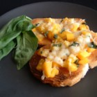 Mango Bruschetta - Mango, the world's favorite fruit, brings its color and excitement to bruschetta. Romano cheese and basil round out this sensational twist on an old favorite.
