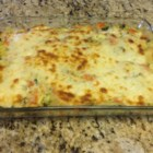 Debbie's Vegetable Lasagna - Vegetarian lasagna made with sauteed vegetables, a Parmesan cream sauce, and lasagna noodles is a hearty vegetarian meal for the whole family.