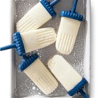 Coconut Yogurt Pops - In these coconut yogurt freezer pops, yogurt and coconut are blended together and frozen to make a cool, healthy snack or dessert.