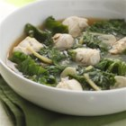 Hawaiian Ginger-Chicken Stew - This chicken stew has a bold ginger-flavored broth and provides a whole serving of dark leafy greens in each bowl.
