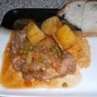 Maltese Rabbit Stew - Nutmeg flavors rabbit, potatoes, and carrots in this traditional Maltese dish.