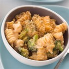 Homemade Mac and Cheese Casserole - Whole wheat pasta and lots of fresh broccoli add a little wholesomeness to this classically indulgent comfort food.