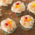Lemon Frosted Carrot Cake Cupcakes - Top moist carrot cake cupcakes with bright and citrusy lemon frosting for a delectable spring treat.