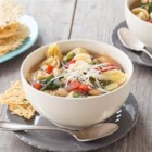 Slow Cooker Tortellini - Perfect for cold-weather entertaining--make this soup ahead of time, freeze, and simply reheat when your guests have arrived.