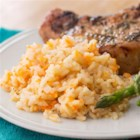 Sweet Potato Risotto from Reynolds(R) - Risotto is made super-easy with Reynolds(R) Oven Bags. No more endless stirring at the stove--all you have to do slide the pan into the oven.