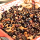 Baked Fruit Buckley - A cross between a crisp, cobbler, Betty, and buckle, this delicious baked fruit buckley is sure to be a hit.