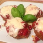 Italian Mini Meat Loaves - Lots of cheese and four-cheese red sauce make these flavorful Italian-inspired mini meat loaves a new family favorite.