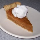 Yummy Pumpkin Pie - Sweetened condensed milk and custard mix distinguish this  very creamy, no-bake pumpkin pie. And it 's a snap to make. Pumpkin puree, brown sugar, spices, custard mix and sweetened condensed milk are stirred up in a saucepan until everything is mingled. The filling is then poured into a pre-baked crust and chilled until ready to serve.