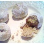Peanut Butter Balls VI - A delicious peanut butter ball, baked and rolled in powdered sugar.