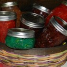 Zucchini Jelly - You might not have thought to make a jelly with zucchini, but once you add fruit-flavored gelatin mix, pineapple, and lemon juice, you have a terrific jelly for canning and sharing.